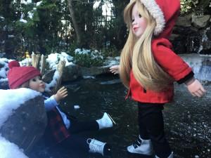 Lily helps Daniela